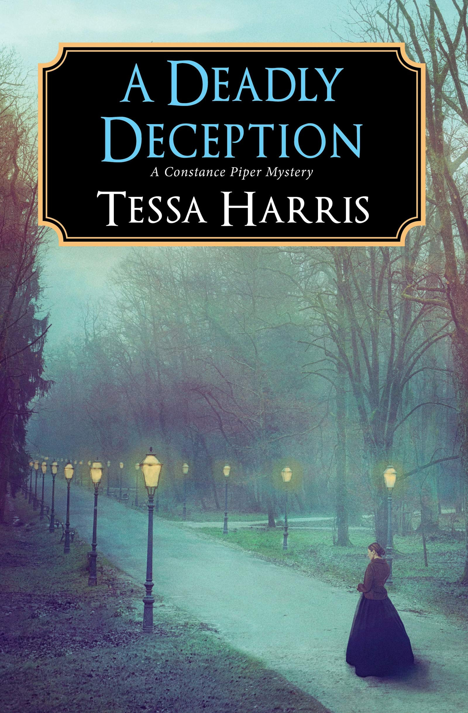 plottwistbookreviews.com  A Deadly Deception by Tessa Harris