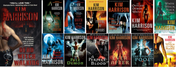 PlotTwistBookReviews.com The Hollows urban fantasy book series by Kim Harrison