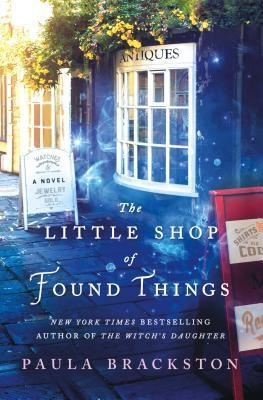 plottwistbookreviews.com The Little Shop of Found Things by Paula Brackston