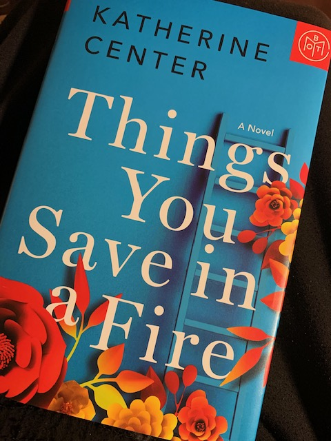 PlotTwistBookReviews.com  Things You Save in a Fire by Katherine Center
